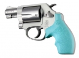 Pažbičky Hogue Smith & Wesson J RÁM ULTRA COMPACT AQUA
