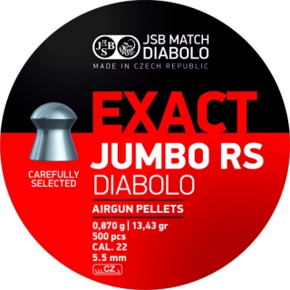 Diabolo JSB Exact Jumbo RS 5,52mm 500ks