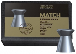 Diabolky JSB Match Premium Heavy 4,52mm 200ks