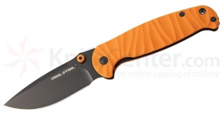 Nôž Real Steel H6 SE II Orange Black Blade