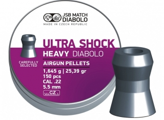 Diabolo JSB Ultra Shock Heavy 5,50mm 150ks
