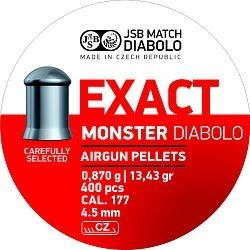 Diabolo JSB Exact Monster cal. 4,52mm