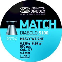 Diabolo JSB Match S100 cal. 4,50mm