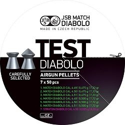 Diabolo JSB Match Test cal. 4,5mm