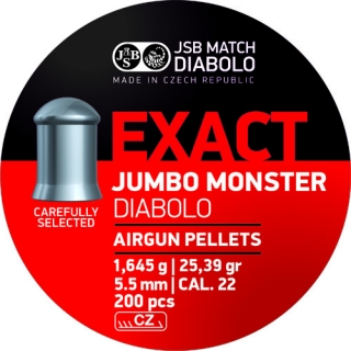 Diabolo JSB Exact Jumbo Monster cal. 5,52mm
