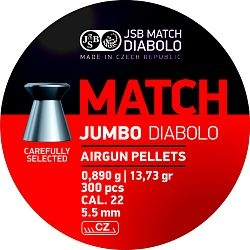 Diabolo JSB Jumbo Match cal. 5,5mm